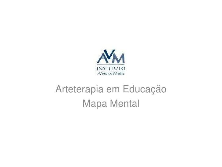 Arteterapia em Educação<br />Mapa Mental<br />