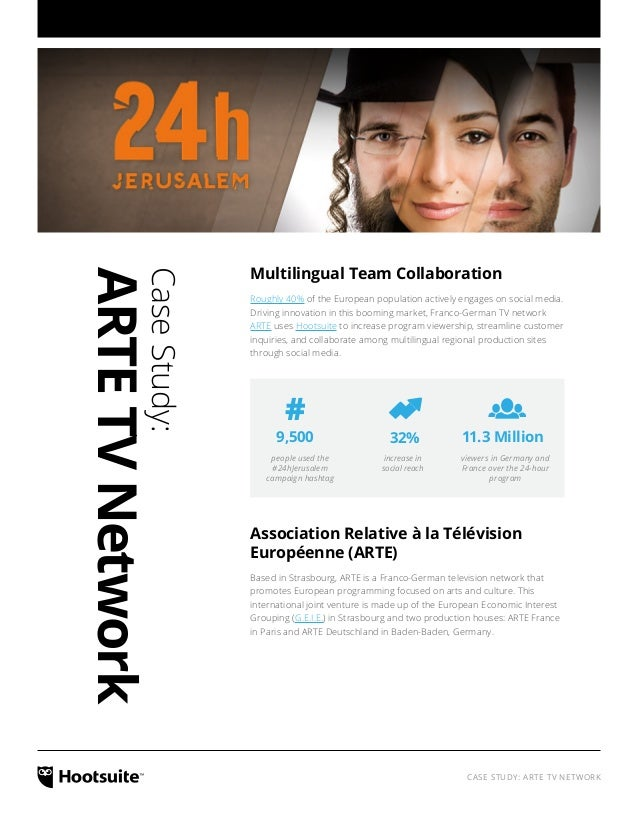 Multilingual Team Collaboration: A Case Study with ARTE TV Network