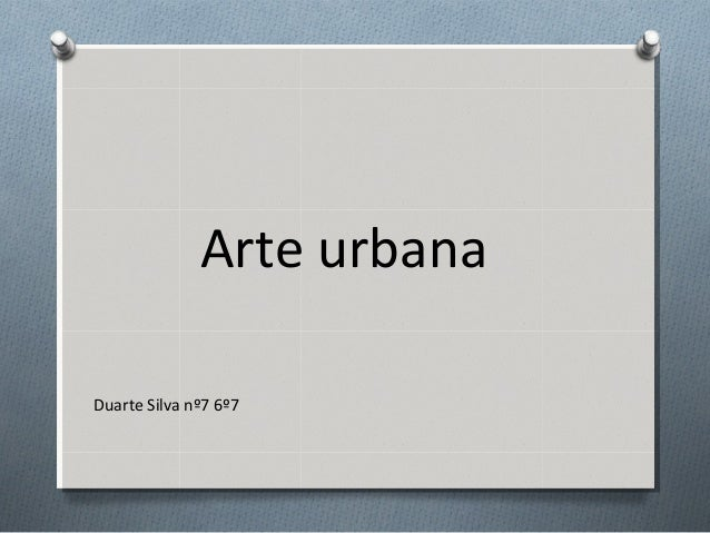 Arte urbana Duarte Silva nº7 6º7