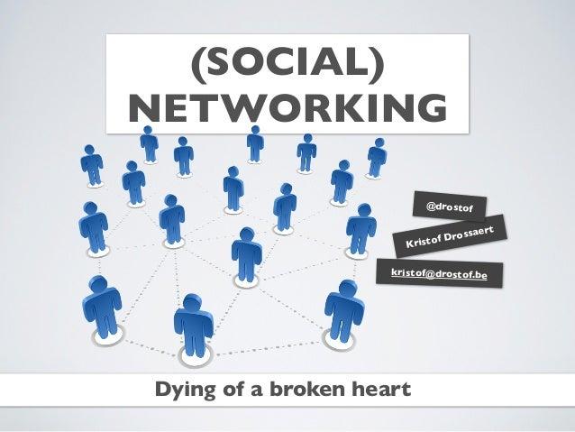 (SOCIAL)NETWORKING                           @drostof                                     rt                             f...