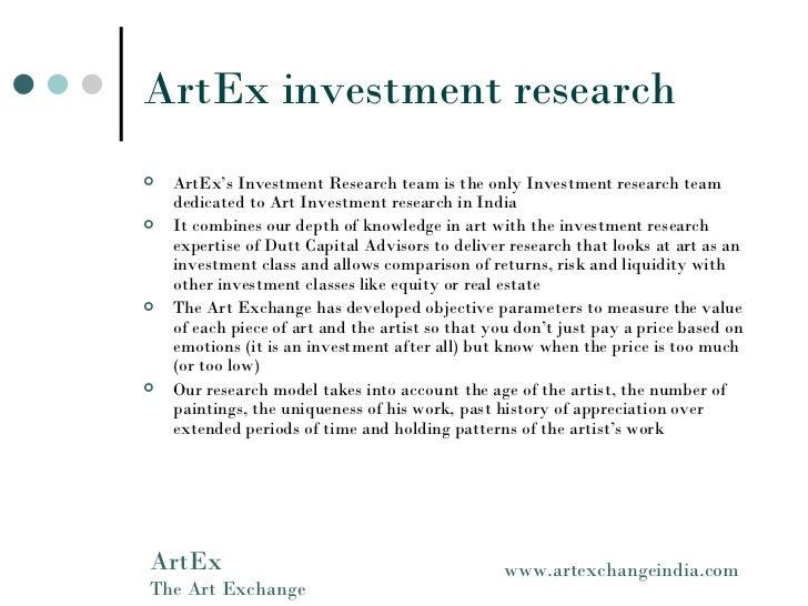 the art exchange india presentation
