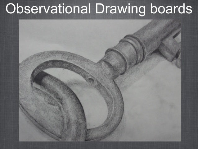 Observational Drawing boards