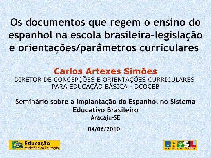 Artexes seminario de espanhol aracaju