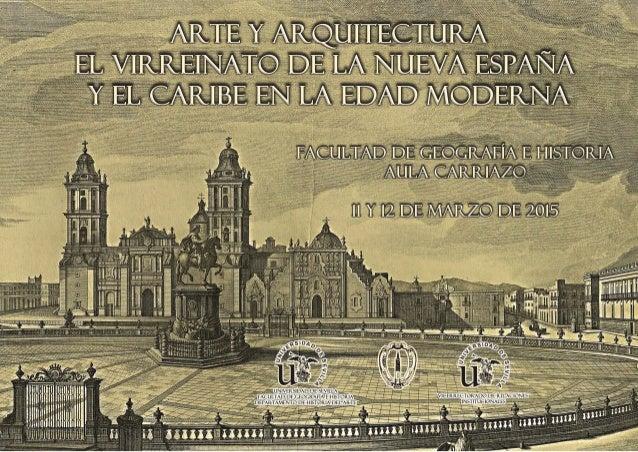 Jornadas de arte y arquitectura el virreinato de la nueva for Inicios de la arquitectura