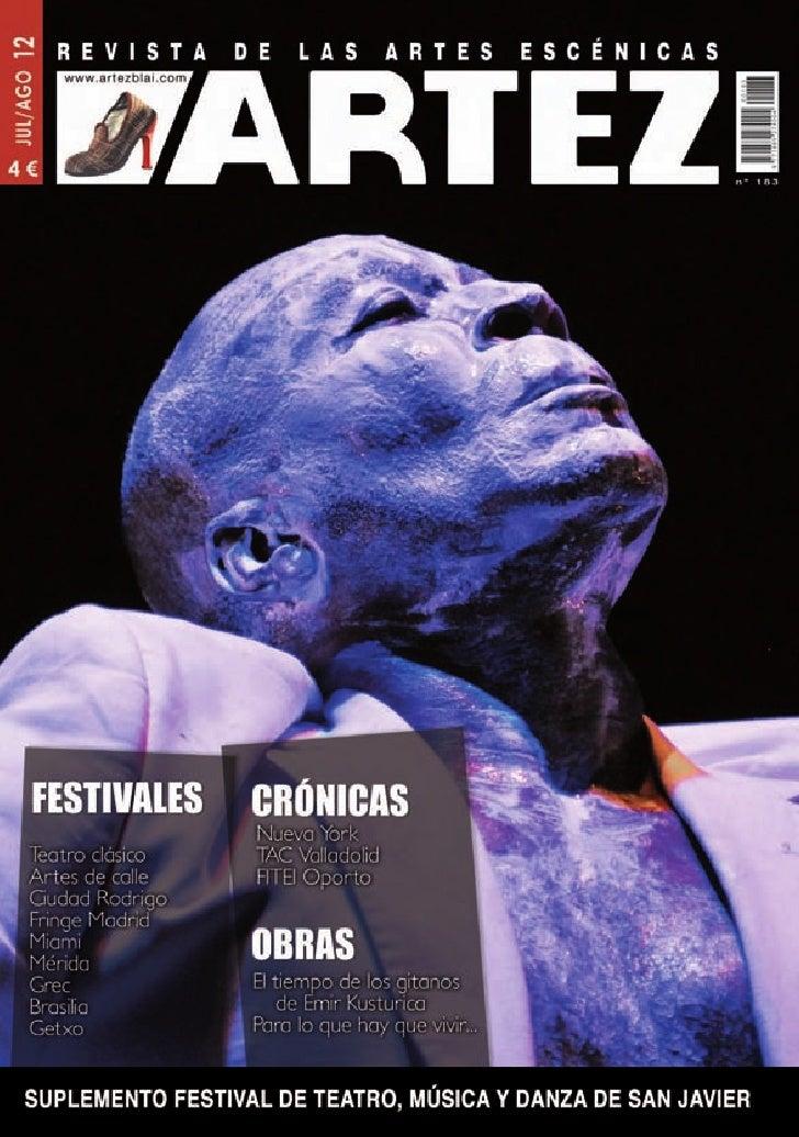 Edita:          Artezblai, S.L.             Opinión                                        5       Editorial             N...