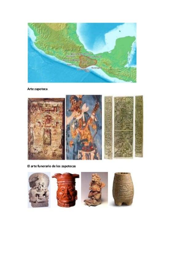 Arte zapotecaEl arte funerario de los zapotecas