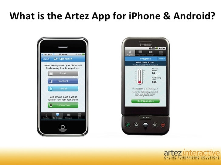 What is the Artez App for iPhone & Android?