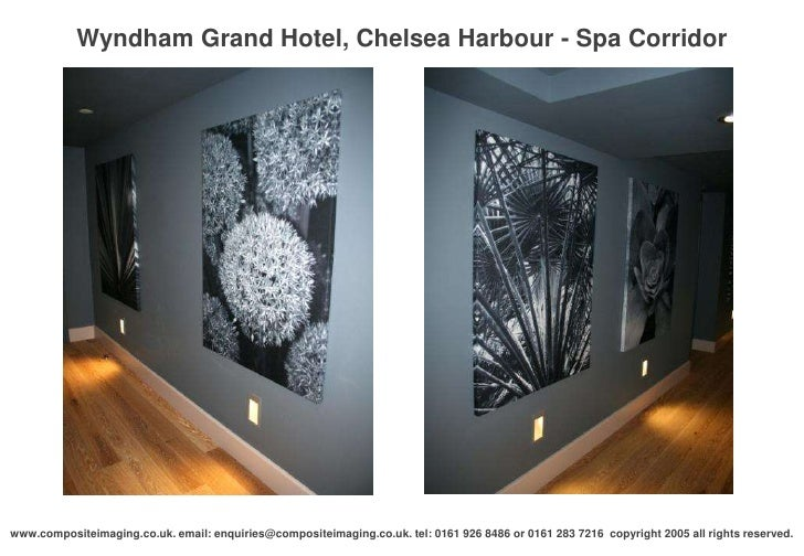 Great Wyndham Grand Hotel, Chelsea Harbour   Spa Corridoru003cbr / ...