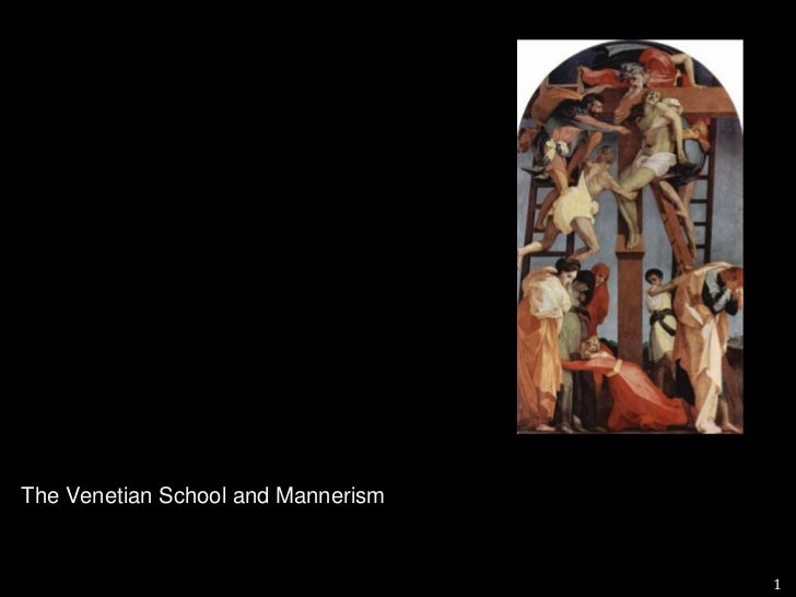 Venetian  School<br />In the sixteenth century, artists such as Giorgione and Titian preferred a gentler, more sensuous a...