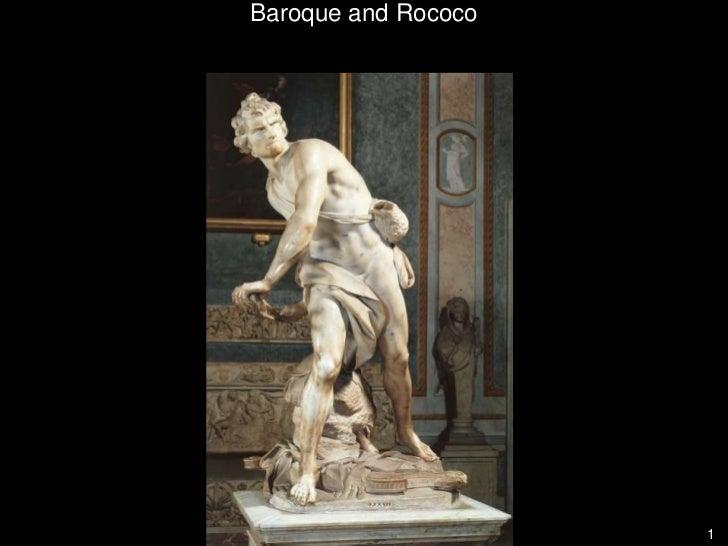 1<br />Baroque and Rococo<br />