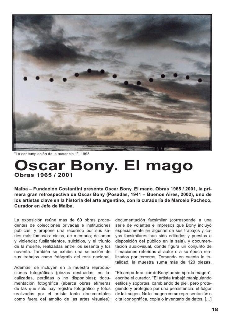 Oscar Bony en su estudio de buenos aires en 1955, foto tomada por Gian paolo Minelli        Fue 1967 un año muy fecundo pa...