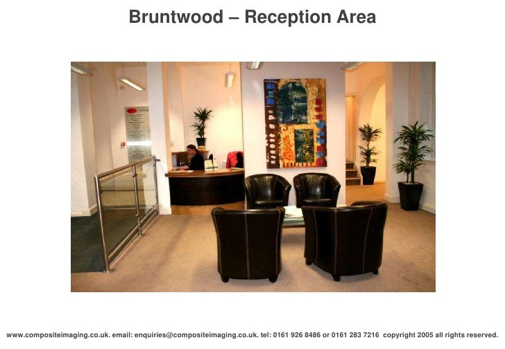 Bruntwood reception area
