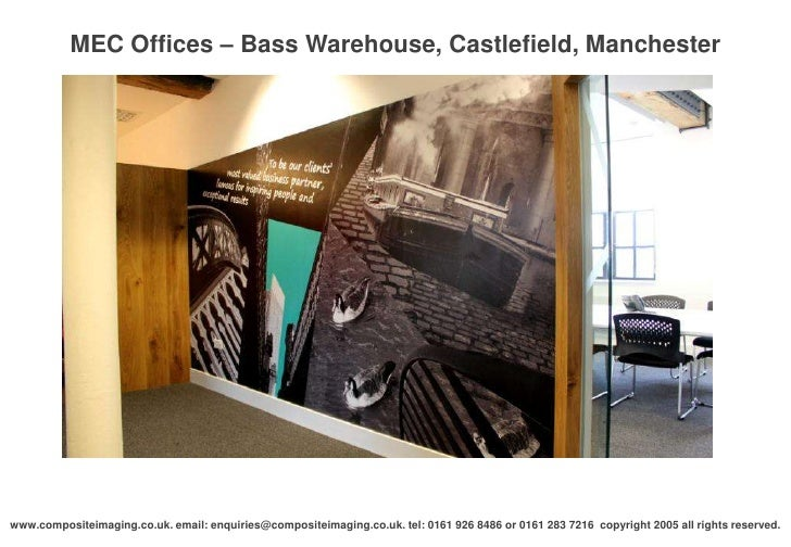 Mec offices bass warehouse castlefield manchester