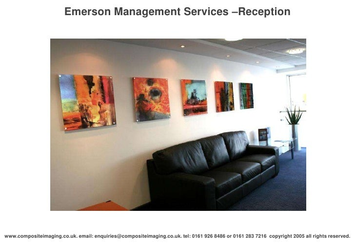 Emerson management services reception
