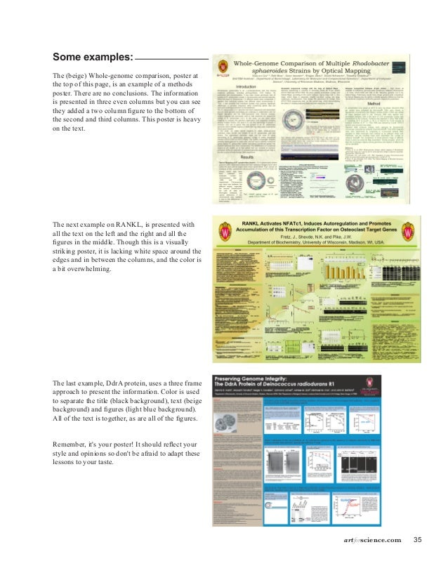 scientific poster background