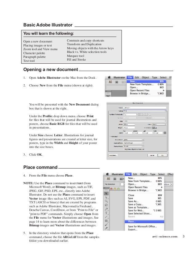 2 Artforscience 5 3 Basic Adobe Illustrator