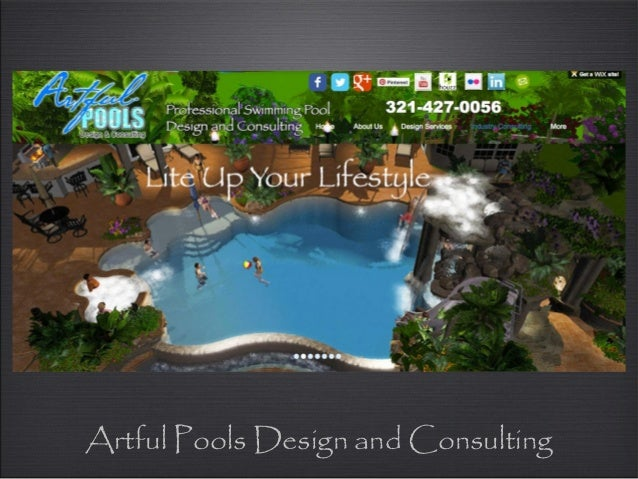 Artful pools design and consulting for Pool design consultant