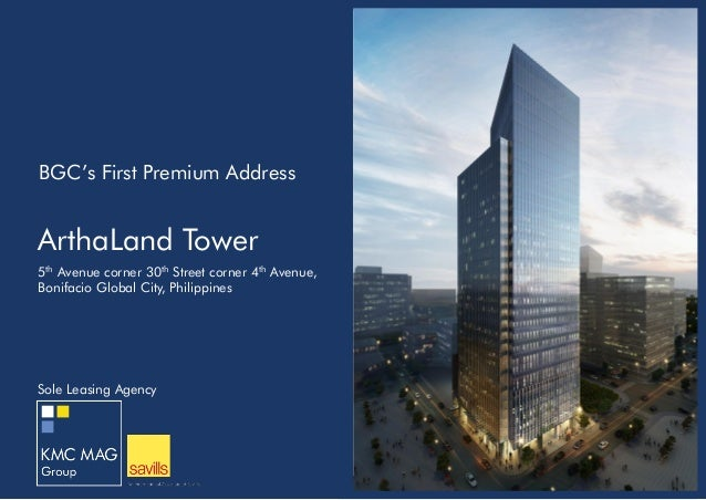 arthaland tower building presentation