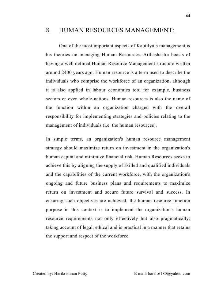 Kautilya Views on Statecraft: 4 Issues that are Part of Entire State Machinery