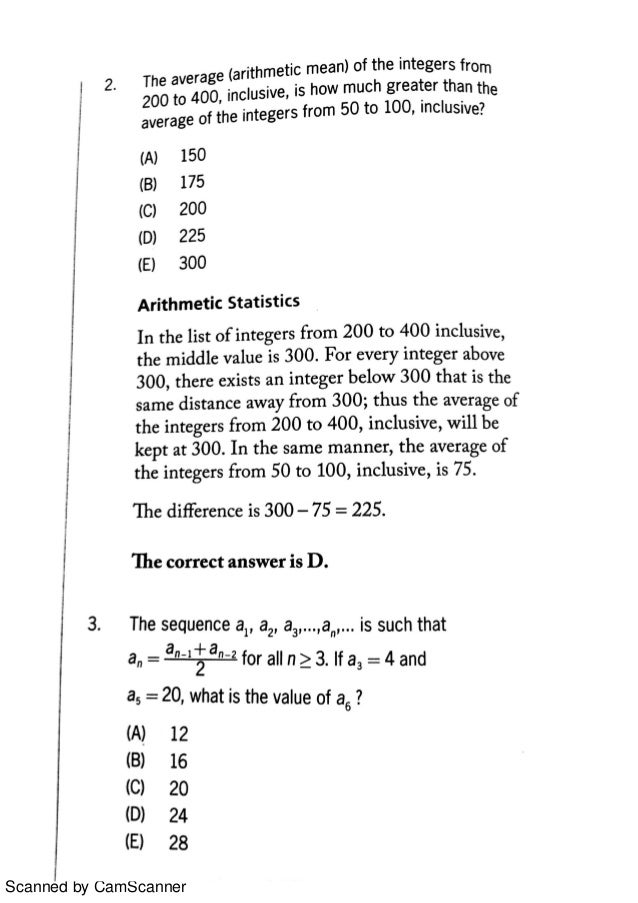 GREKing: Arithmetic Basic Types of Questions in GRE exam