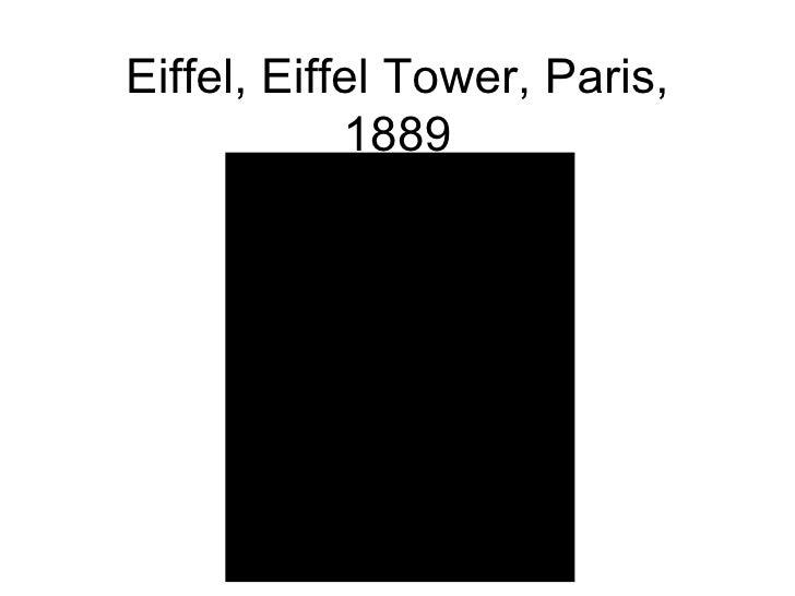 Eiffel, Eiffel Tower, Paris, 1889