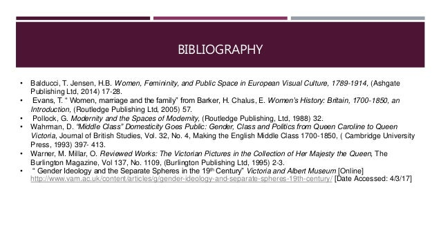 modernity and the spaces of femininity summary Publisher's summary femininity and public space in european visual culture berlin and london, emerge as crucial sites of production for genteel femininity, providing a long-overdue rethinking of modern femininity in the public sphere (source: nielsen book data.