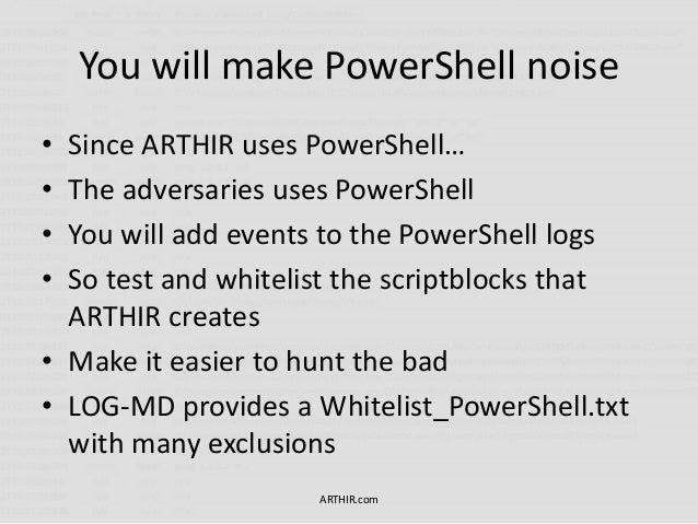 Introducing ArTHIR - ATT&CK Remote Threat Hunting Incident Response W…