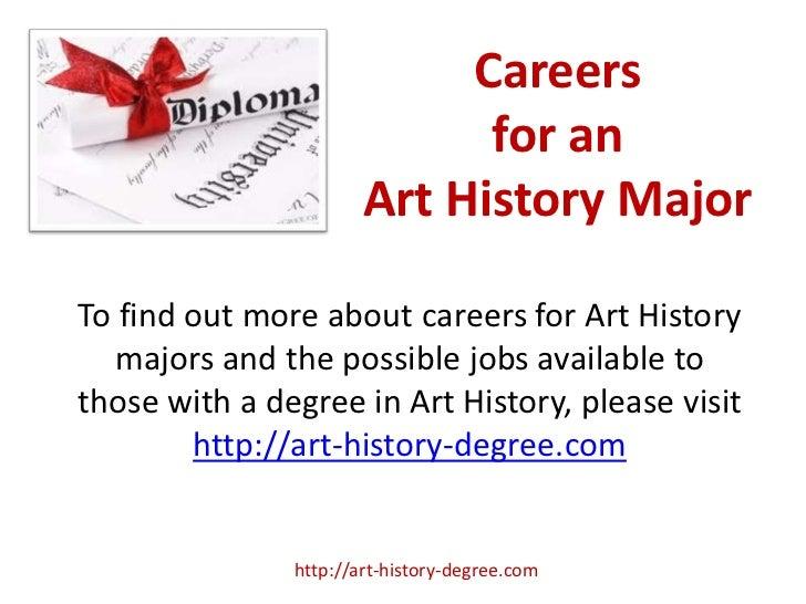 Art History Degree Careers