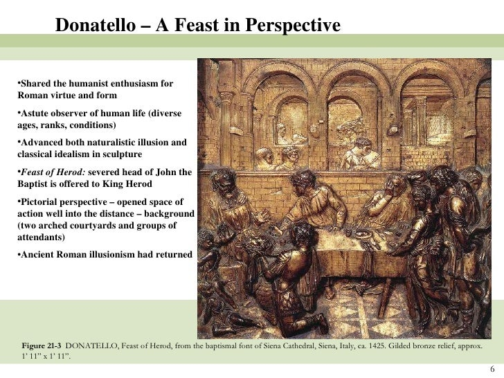 essay on donatello