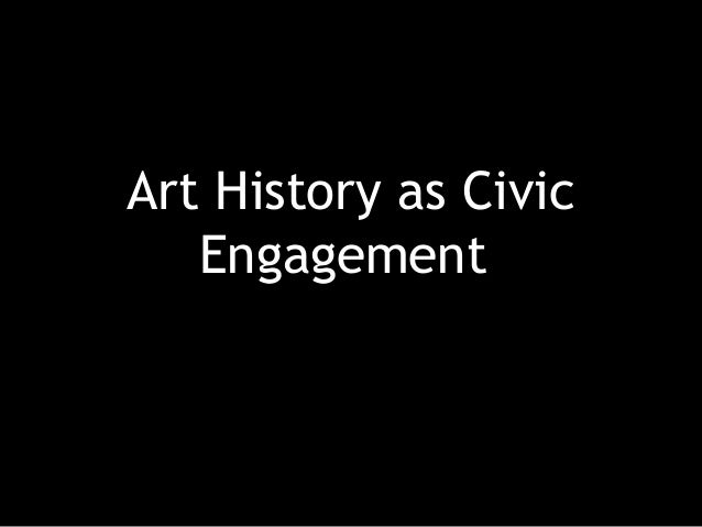 Art History as Civic Engagement