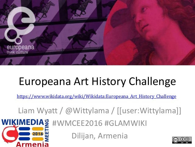 Europeana Art History Challenge Liam Wyatt / @Wittylama / [[user:Wittylama]] #WMCEE2016 #GLAMWIKI Dilijan, Armenia https:/...
