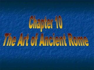 Art History Chap 10 A