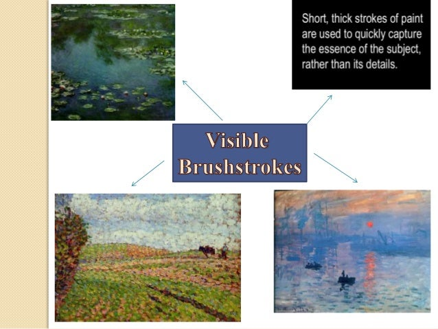 Art history impressionism for In their paintings the impressionists often focused on