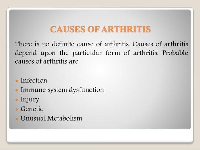Arthritis : causes, symptoms, treatment and prevention  Arthritis : cau...