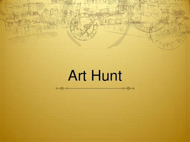 Art Hunt<br />
