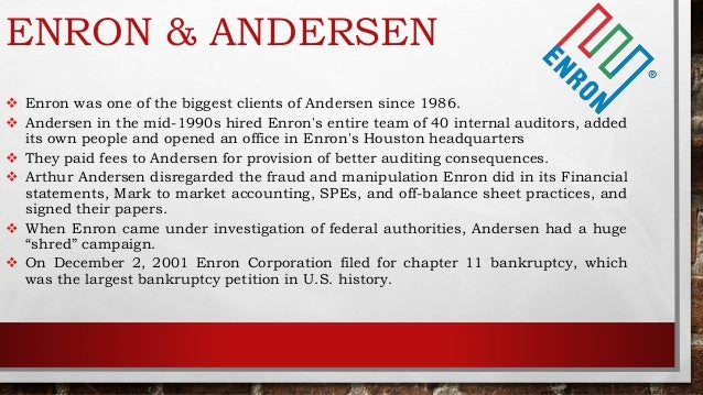 fall of arthur andersen case study The study finds that andersen clients experienced  br rountreean analysis of forced auditor change: the case of former arthur andersen  stocks fall as some.