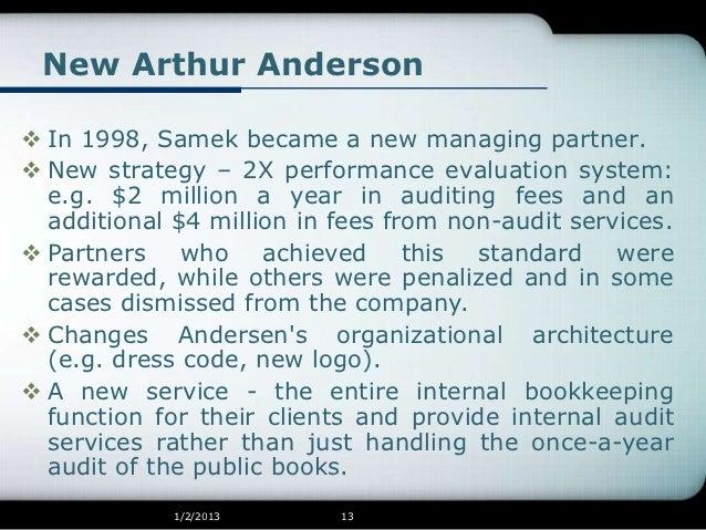 arthur andersen organizational architecture Cultural change that sticks jon r katzenbach  following them can help an organization achieve higher performance,  the cultural slide at arthur andersen.