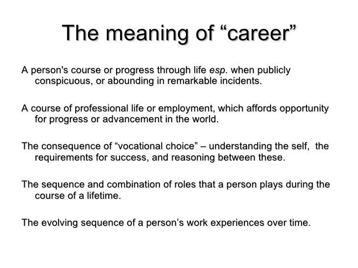 professor michael arthur career studies sep 02 09