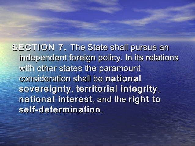 section 6 the seperation of the church and state shall be inviolable Why government is accountable for the separation of church and state published on august 3 the separation of church and state shall be inviolable (article ii, section 6) despite the principle of separation of church and state being enshrined in the country's constitution.
