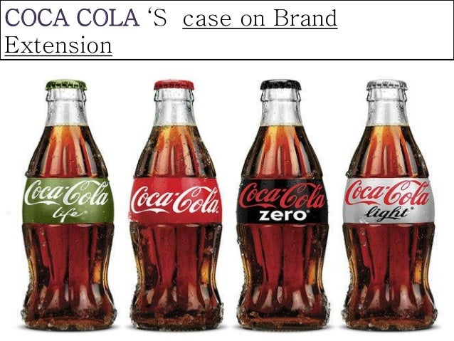 """coca cola extension strategy With this campaign and our broader """"one brand"""" strategy, we're letting consumers know they can enjoy coca‑cola with calories, fewer calories or no calories and with or without caffeine the choice belongs to each individual, every time he or she reaches for a delicious and refreshing coca‑cola."""