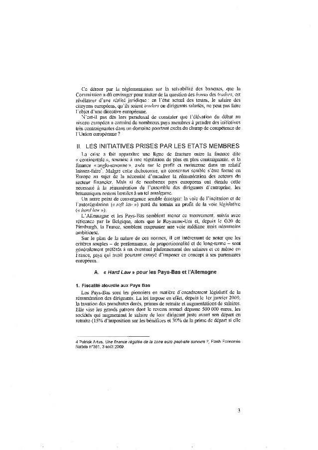 Panorama des pratiques de rémunération dans les pays de l'Union Européenne