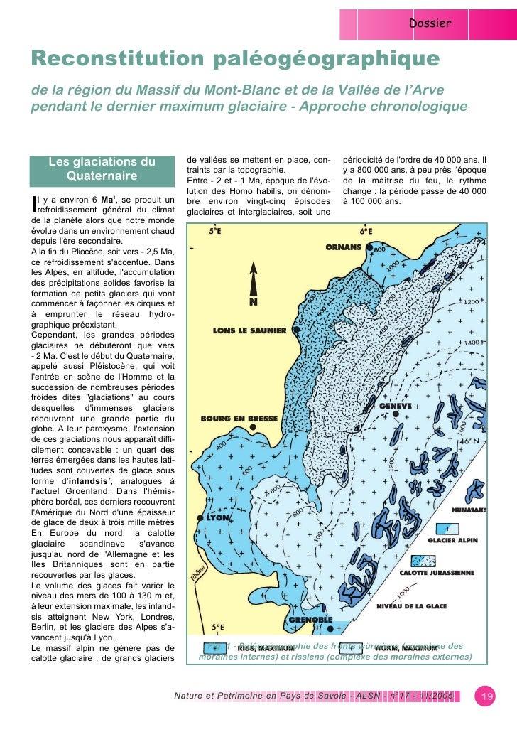 Reconstitution paléogéographique