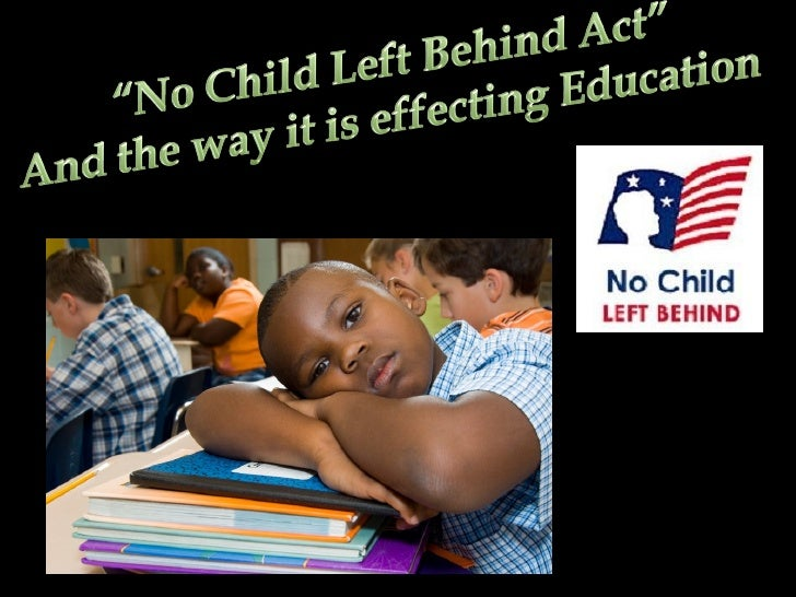 no child left behind paper