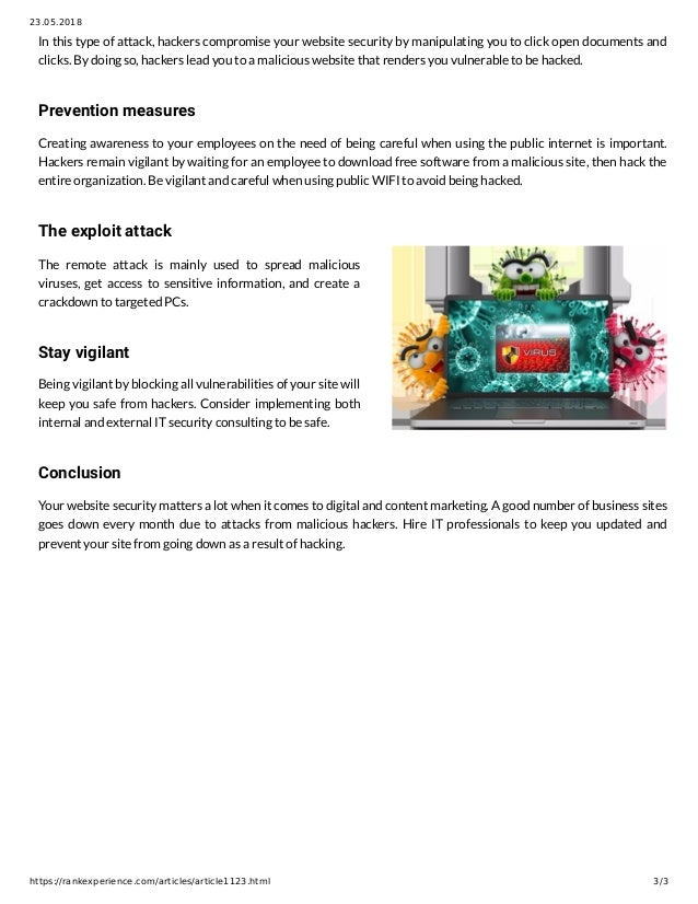 Semalt: Basic Types of Hacker Attacks and How To Remedy A