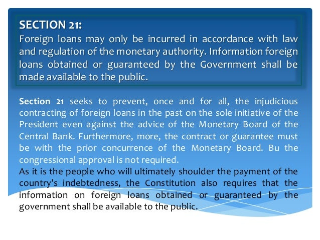 Article xii national economy and patrimony