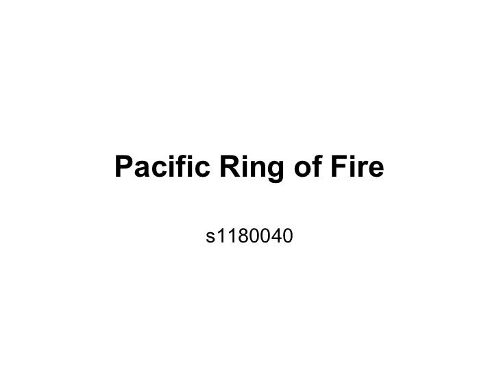 Pacific Ring of Fire      s1180040