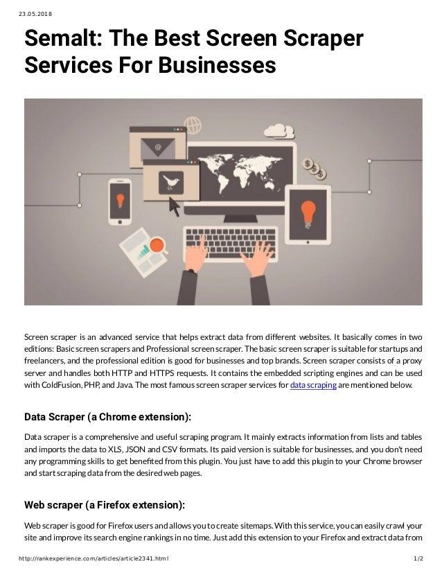 Web Scraper Service