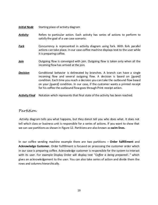 Use case uml diagram 18 figure 11 coffee machine activity diagram 19 ccuart Gallery