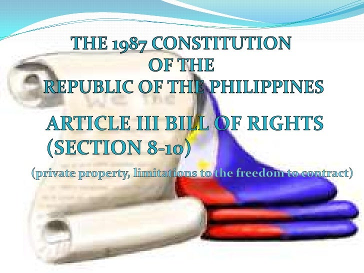 article 2 section 9 1987 constitution explanation Article 2 philippine constitution  usage to be applied a treaty has force of a statute constitution prevails over a treaty section 2  1987 the law was enacted .