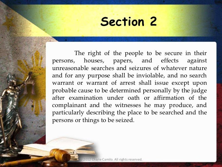 summary of bill of rights article 3 in philippine constitution The constitution of the philippines article iii - bill of rights article iii enumerates specific protections against the abuse of state power, most of which are similar to the provisions of the us constitution some essential provisions are.